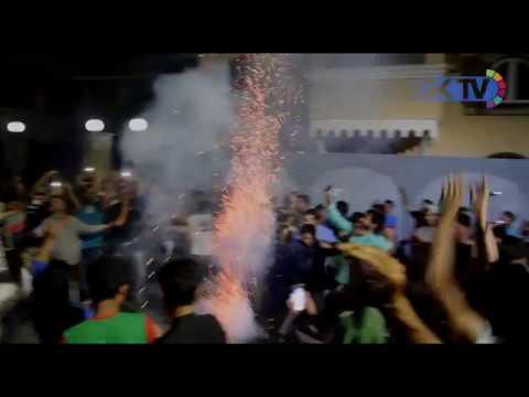Cricket frenzies Kashmir.