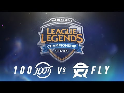 100 vs. FLY - Week 4 Day 1 | NA LCS Spring Split | 100 Thieves vs. FlyQuest (2018)