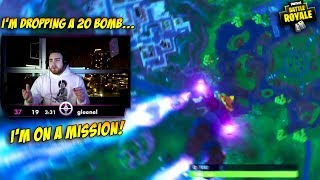 LosPollos Said He'd Get A 20 Bomb On Fortnite... here's what happened (Hilarious)
