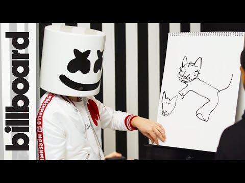 Marshmello & Moe Shalizi Play Pictionary! | Billboard