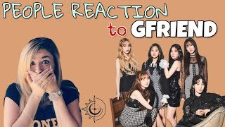 People reaction to GFRIEND