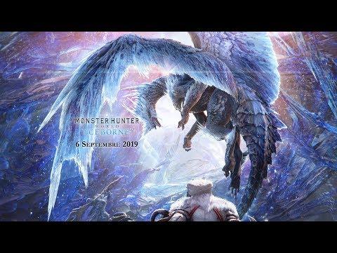 Monster Hunter World : la nouvelle région du Givre éternel se dévoile dans l'extension Iceborne
