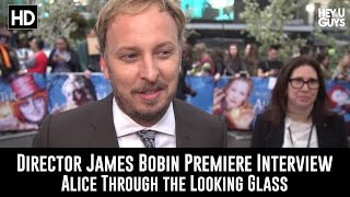 Alice Through The Looking Glass Premiere Interview - James Bobin