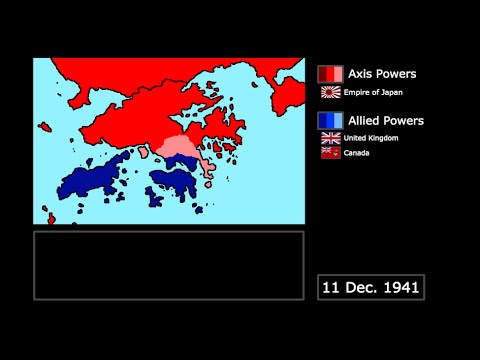 [WWII] The Japanese Invasion of Hong Kong (1941): Every Day