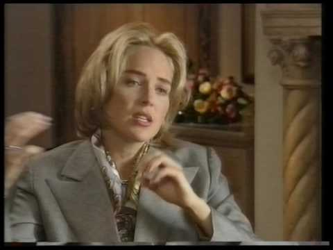 Sharon Stone talks to Barry Norman