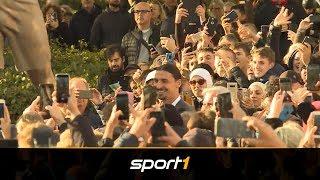 Ibrahimovic deutet Fortsetzung seiner Karriere an | SPORT1 - DER TAG