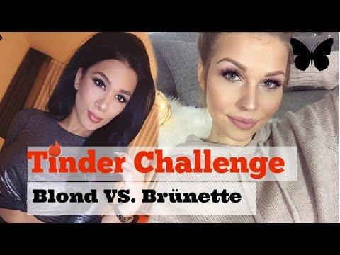 BLOND VS. BRÜNETTE WER KOMMT BESSER AN I TINDER CHALLENGE I SORAYA ALI