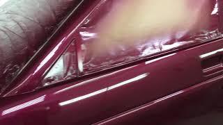 Раскрыт секрет покраски автомобиля в глянец это Полировка.  Итог покраски ВАЗ 2112.