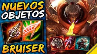 NUEVOS OBJETOS de BRUISER | Noticias League Of Legends LoL