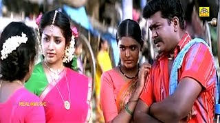 பார்த்திபன் மீனா நடித்த ஒரு அருமையான சினிமா காட்சி  Bharathi Kannamma  Parthiban Meena Scenes