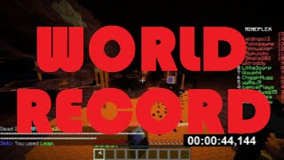 Mineplex Dragon Escape - Through Hell [WORLD RECORD] [0:55:133] (official)