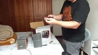 Edifier R1280T - Unboxing