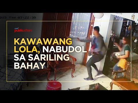 KAWAWANG LOLA, NABUDOL SA SARILING BAHAY!