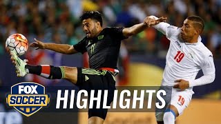 Mexico vs. Cuba - 2015 CONCACAF Gold Cup Highlights