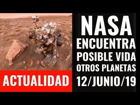 ACTUALIDAD I Encuentra NASA posible evidencia de vida en otro planeta; Una mujer a la Luna en 2024.
