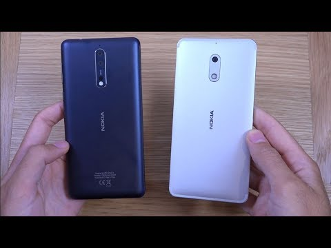 Nokia 8 vs Nokia 6 - Which is Fastest?