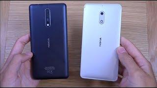 Nokia 8 vs Nokia 6 - Which is Fastest?