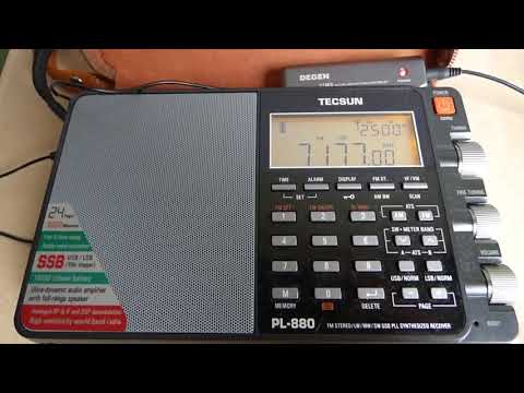 7177 kHz LSB / 25 Nov 2017 0936 UTC / Tecsun PL-880