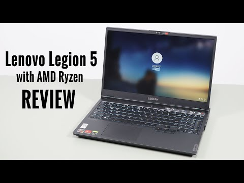 Lenovo Legion 5 review, with AMD Ryzen 7 4800H - Almost there!