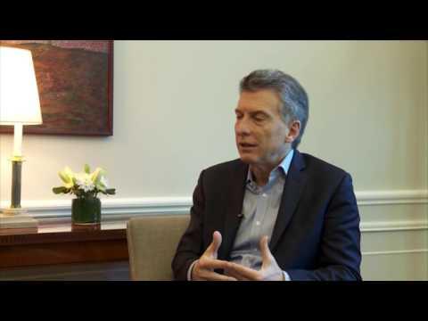 Macri tuvo un mano a mano con Canal 7: prometió agilizar obras en el túnel y asistencia a productores