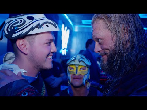 Download Edge & Rey Mysterio prepare Dominik for his first match in front of a live audience