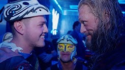Edge Rey Mysterio prepare Dominik for his first match in front of a live audience