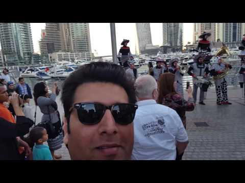 Dubai Marina Tour 2016
