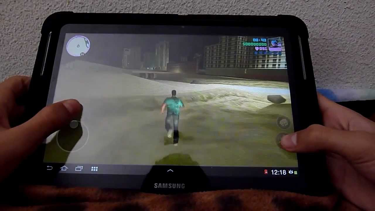 Super Tablet Samsung GT-N8010 - GTA Vice City - YouTube RT91