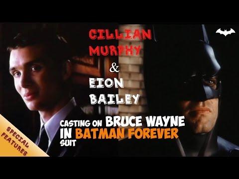 Screentest Cillian Murphy & Eion Bailey on Batman  Batman: Begins