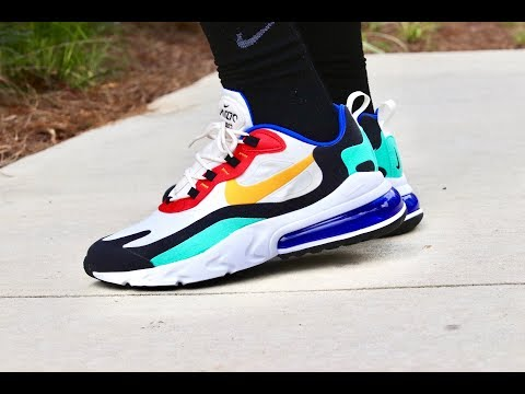 Nike Airmax 270 React Bauhaus Wescalifas simple review