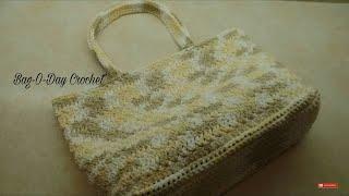 CROCHET How To Crochet Star Stitch Summer Bag Purse #TUTORIAL #320