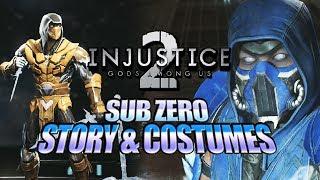 SUB-ZERO - Story & Costumes: Injustice 2 DLC