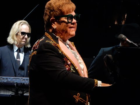 Elton John Performs Levon Live On His Farewell Tour