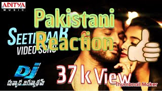 Pakistani Reaction | Seeti Maar Full Video Song | DJ Video Songs | Allu Arjun | Pooja Hegde | D…