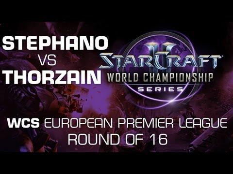ThorZaIN vs. Stephano - Group D Ro16 - WCS European Premier League - StarCraft 2