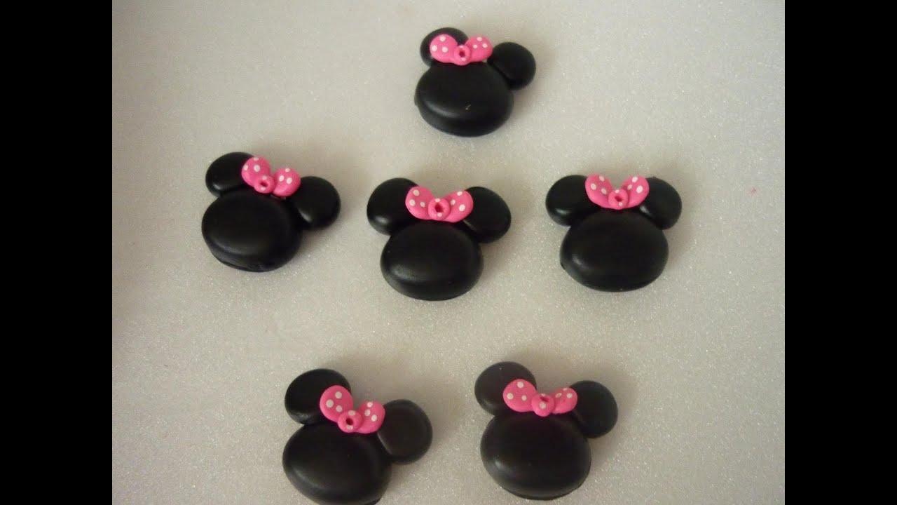 Apliques de minnie mouse en porcelanicron silueta de - Apliques de pared clasicos ...