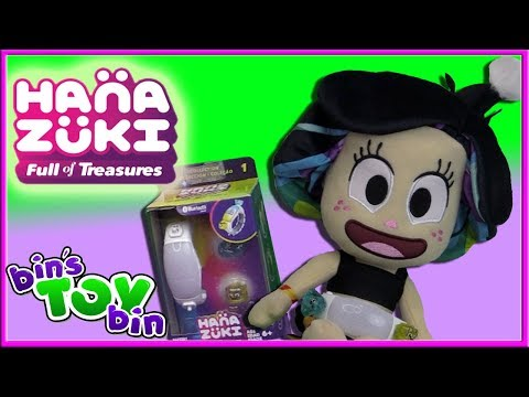 HANAZUKI Light-Up Plush And Moodgleam Bracelet Review | Bin's Toy Bin