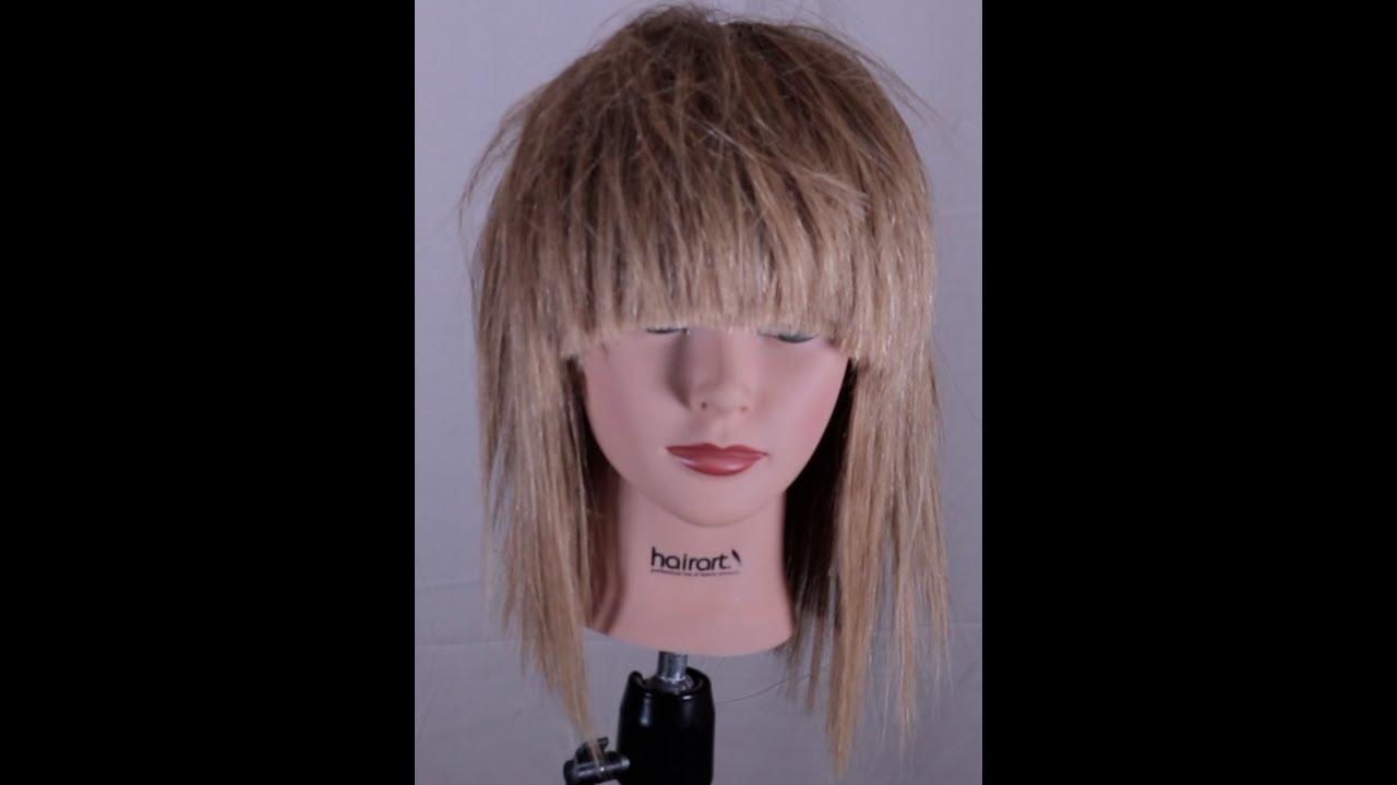 Super Messy Layered Haircut Youtube