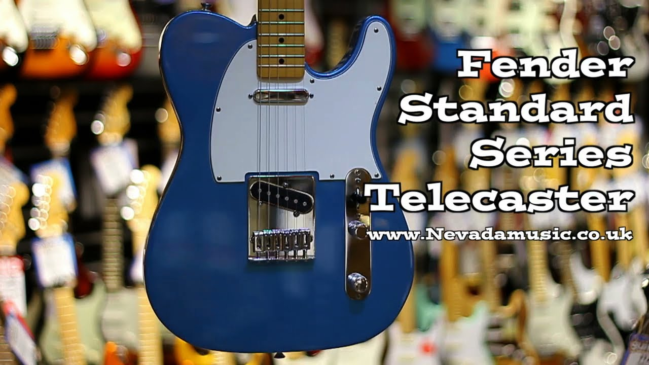 Fender Standard Telecaster: Review of the MIM Tele | Spinditty