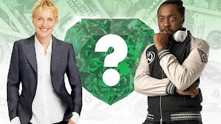 WHO'S RICHER? - Ellen DeGeneres or Will.I.Am? - Net Worth Revealed!