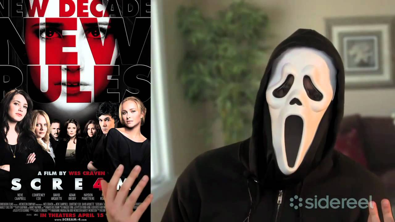 Scream 4 - Interview Spoof with Scream Killer Ghostface!