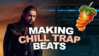 COOKING UP CHILL TRAP BEATS! [VERY HARD] | FL Studio Cookup