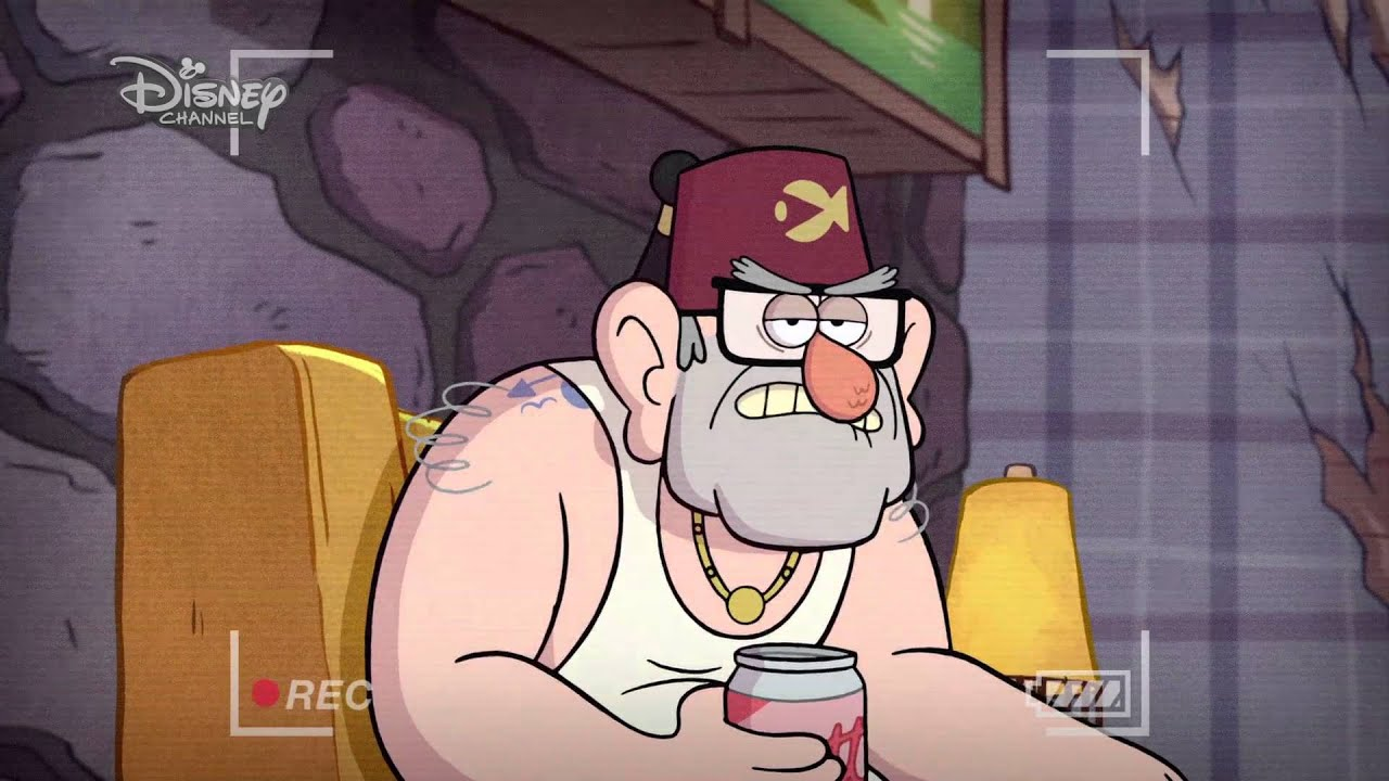 Gravity Falls: Dipper's Guide to the Unexplained - Stan's Tattoo | Official Disney Channel