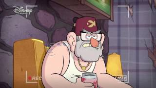 Gravity Falls: Dipper's Guide to the Unexplained - Stan's Tattoo | Official Disney Channel Africa