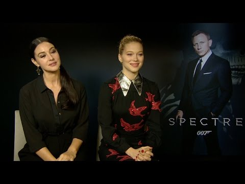 "Watch 'Spectre's' Monica Bellucci and Lea Seydoux Play ""Save or Kill"""