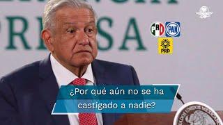 En múltiples ocasiones el presidente López Obrador ha señalado la corrupción que se presentó en sexenios anteriores, pero hasta el momento no hay ninguna persona sancionada por ello. ¿Cuál puede ser la razón de esto? El sociólogo y antropólogo, Roger Bartra, quien ha dado seguimiento puntual a la carrera política del presidente, da respuesta a esta pregunta
