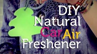 DIY Natural Car Air Freshener