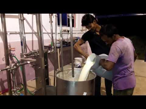 Mini Milk Processing plant