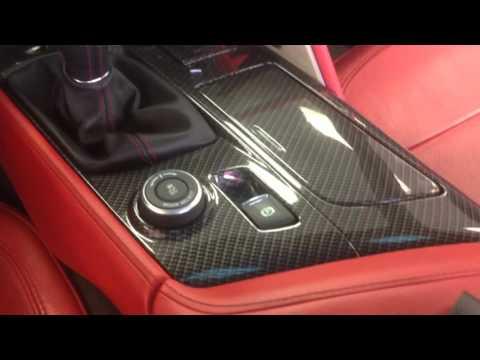 Corvette Mods Carbon Fiber Dash Pieces C7