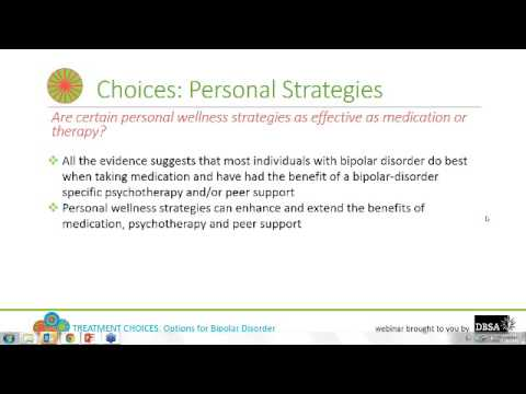 Treatment Choices: Options for Bipolar Disorder